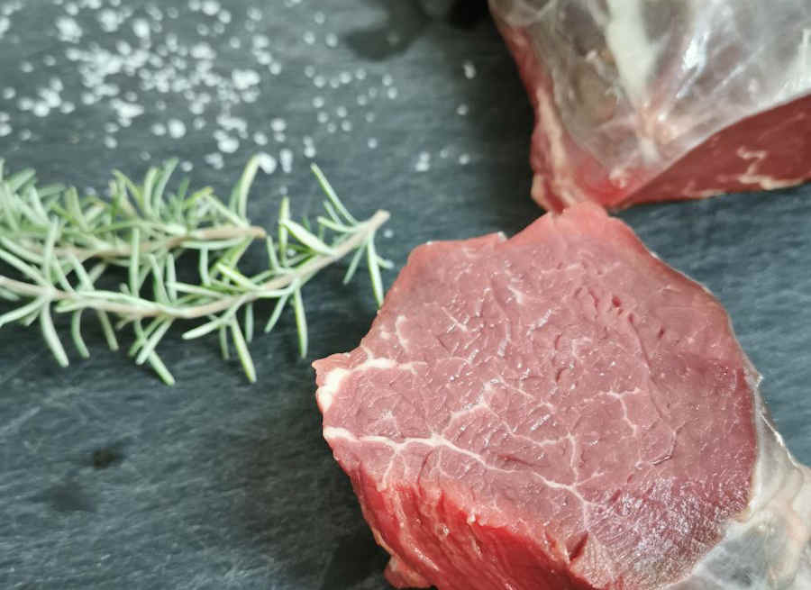 Frisches Rindfleisch